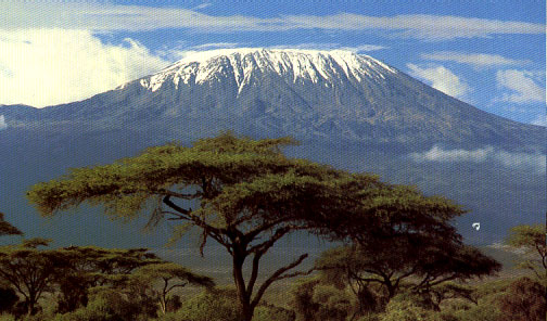 Picture taken from http://www.exploretravel.no/turer/kilimanjaro.htm
